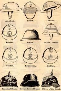 Világháborús katonai sisakok a világ minden részéről