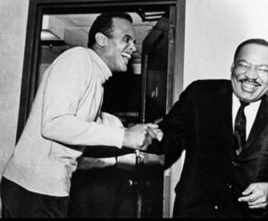 Martin Luther King találkozása a Grammy- díjas Harry Belafonte-val