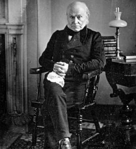 Az első amerikai elnök, akit lefotóztak- John Quincy Adams (1843)