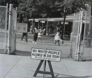 """Elfogadhatatlan """"Negro nap"""" a Memphisi állatkertben 1959-ben"""