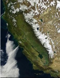 Így nézhetett ki California 1851-ben az űrből