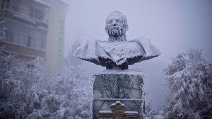 A-statue-of-Ivan-Kraft-one-of-the-first-governors-of-Yakutia-stands-caked-in-frost-most-of-the-year.-Welcome-to-The-Coldest-Place-Inhabited-By-Humans-on-Earth