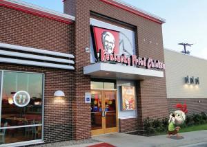 Kotlik Csöpi a KFC-ben