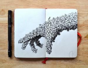 moleskine_doodles__handmade_by_kerbyrosanes-d87tuvi