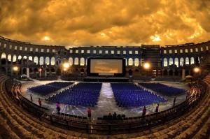 Aréna, Horvátország