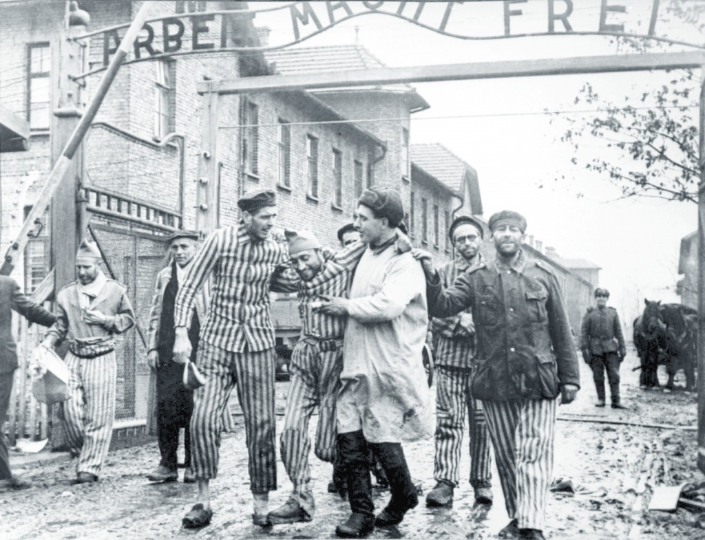 On this day sixty-eight years ago, the 322nd Rifle Division of the Red Army liberated Auschwitz-Birkenau.