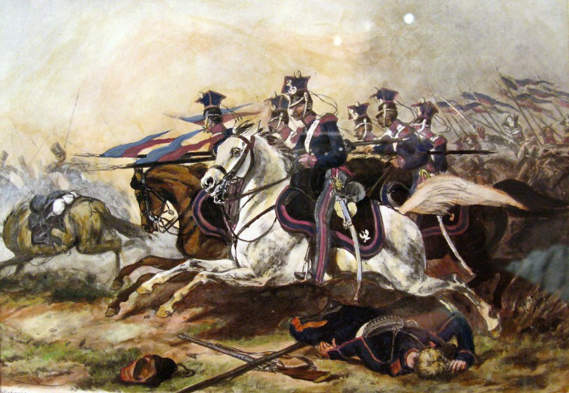 Charge_of_Poznań_Cavalery_during_November_Uprising