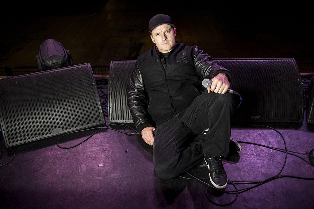 Téglás Zsolt Ignite zenekar énekese 2016.01.30. foto : Horváth Péter Gyula