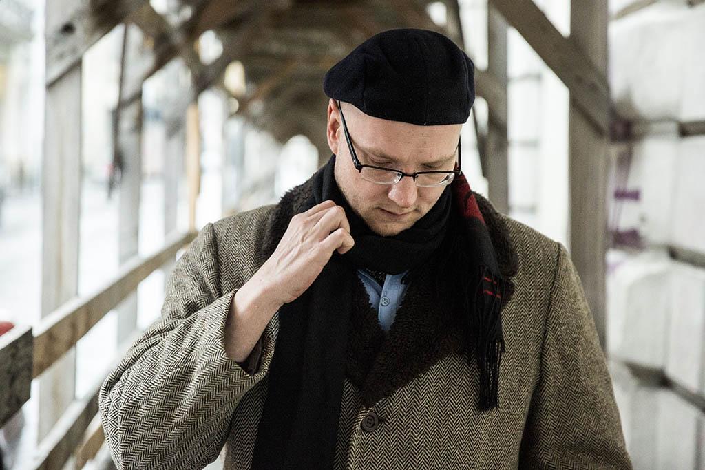 Jászberényi Sándor költő haditudósító 2016.02.08.foto:Horváth Péter Gyula