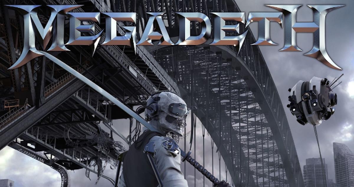 MEGADETH Unleash New Studio Album 'Dystopia' Available January 22, 2016 (PRNewsFoto/Universal Music Enterprises)