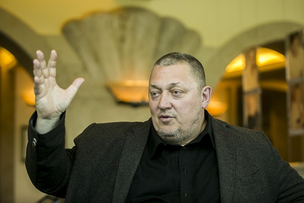 Vidnyánszky Attila Nemzeti Színház igazgatója 2016.05.06. Fotó: Horváth Péter Gyula
