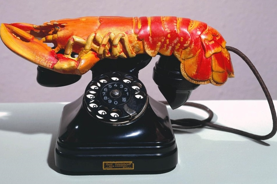 Lobster Telephone 1936 Salvador Dal? 1904-1989 Purchased 1981 http://www.tate.org.uk/art/work/T03257
