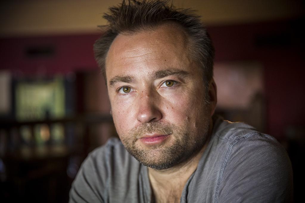 Tasnádi István József Attila-díjas drámaíró 2016.05.31. Fotó: Horváth Péter Gyula
