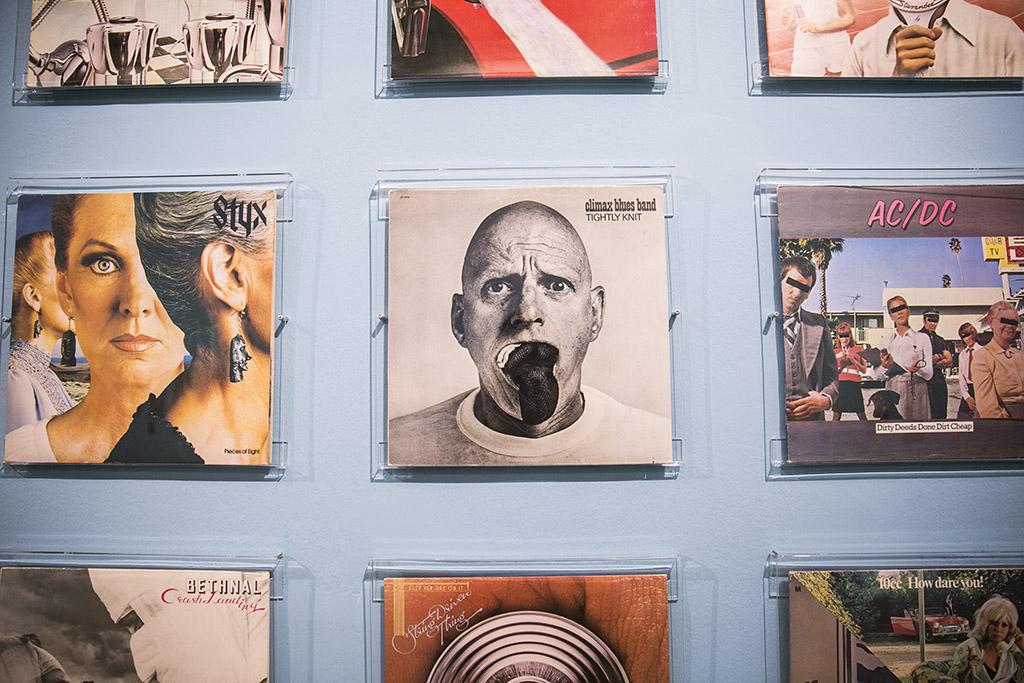 Total Records lemezborító kiállítás 2016.06.24. Fotó: Horváth Péter Gyula