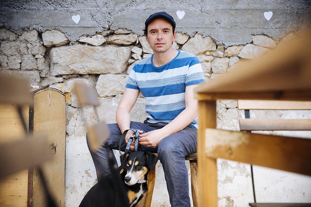 BEREGI TAMÁS író, forgatókönyvíró, játékkutató Fotó: Horváth Péter Gyula