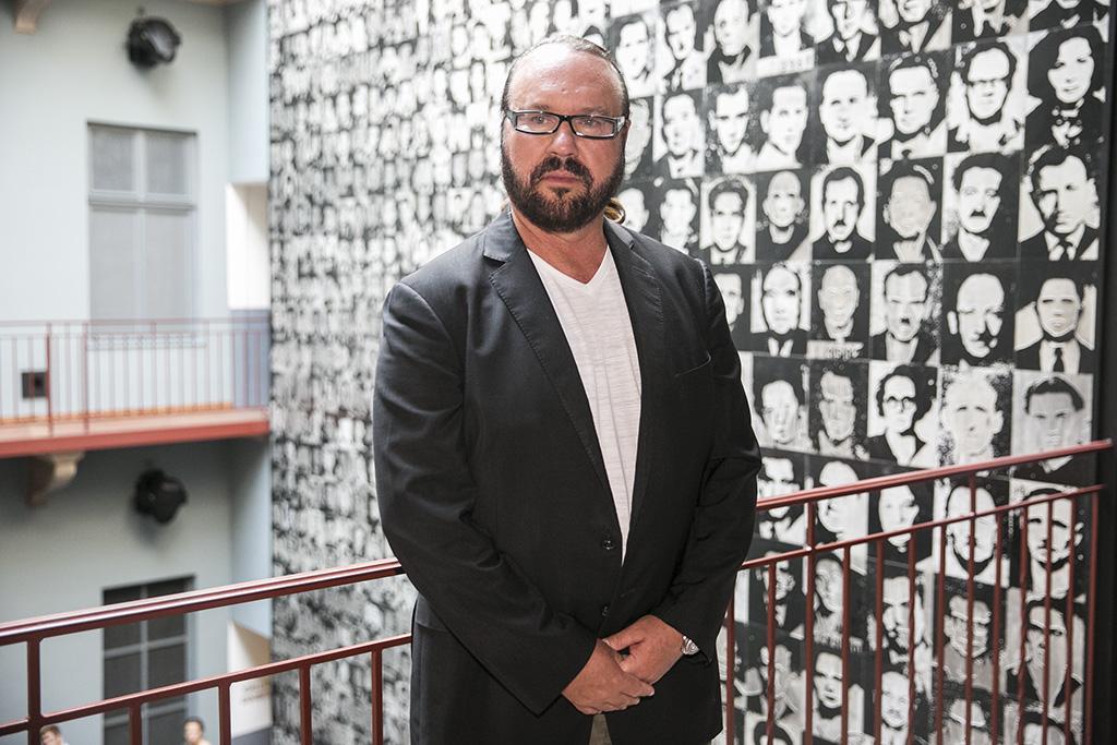 Desmond Child, magyar származású amerikai zeneszerző-producer és Andreas Carlsson zeneszerző  2016.07.12. Fotó: Horváth Péter Gyula