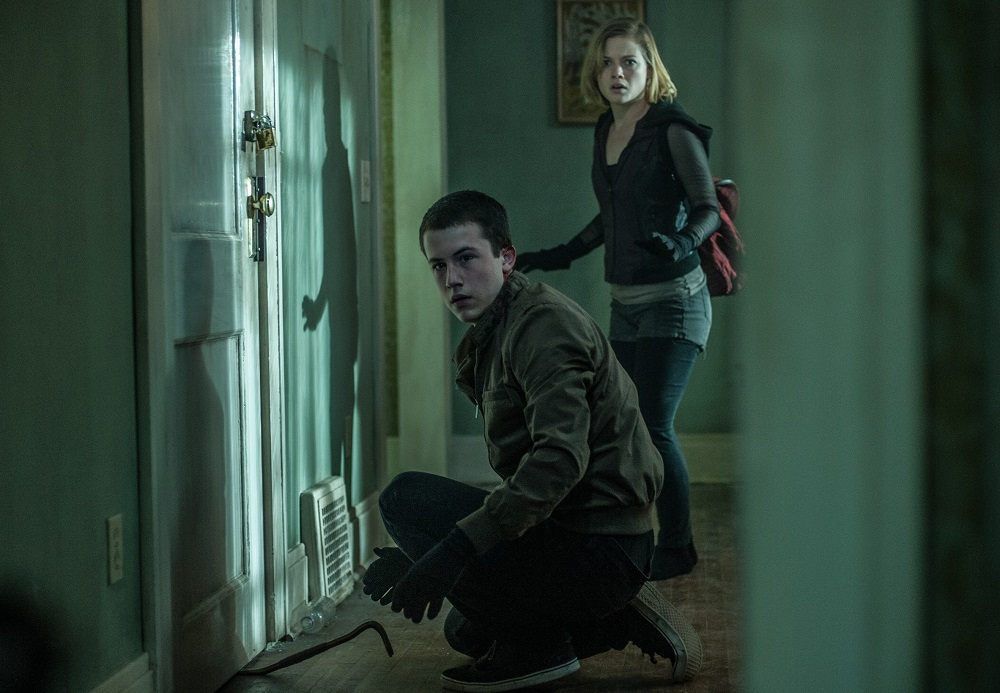 Dylan Minnette and Jane Levy star in Screen Gems' horror-thriller DON'T BREATHE.