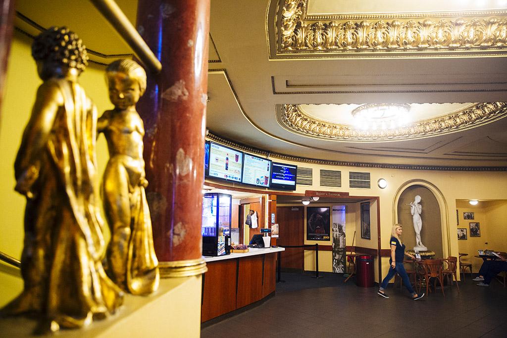 Jubileumi programokkal köszöntik a 90 éves Puskin mozi 2016.09.16. Fotó: Horváth Péter Gyula
