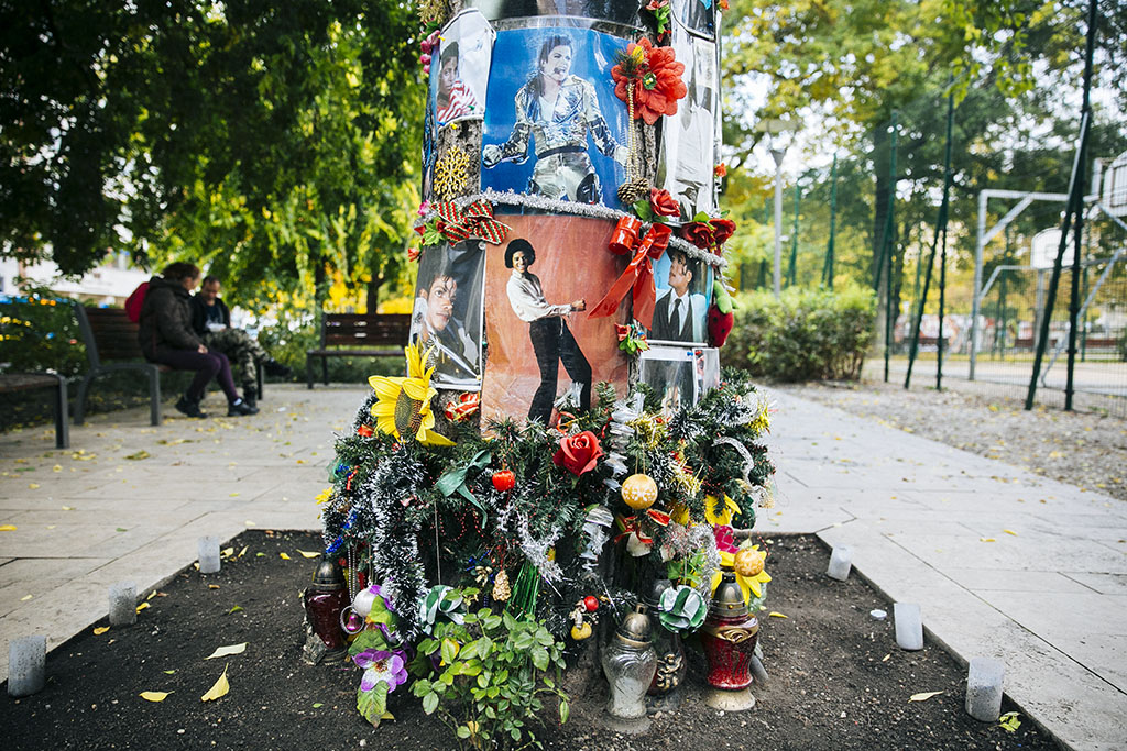 Halottak Napja graffiti 2016.10.28. Fotó: Horváth Péter Gyula
