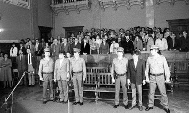 Az elsőfokú ítélethirdetés 1984. május 15-én a Fővárosi Bíróságon