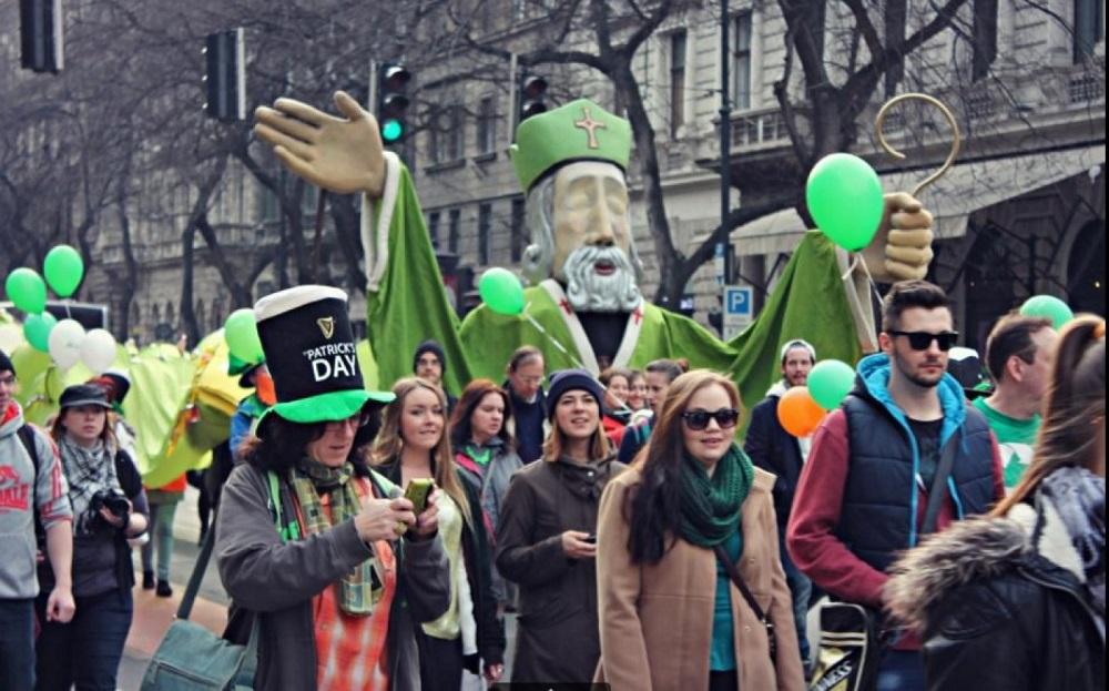 Smaragdzöldben Budapesten – Indul a Szent Patrik napi fesztivál