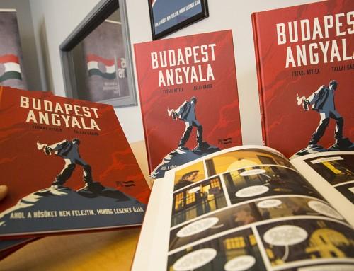 """""""Egy Molotov-koktél lobbantotta lángra"""" – A Budapest angyala című képregényről"""