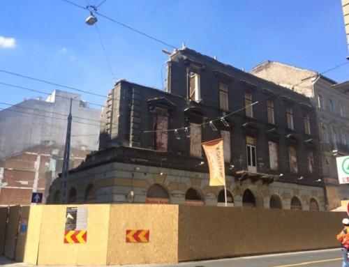 Rombolás és bánat Belső-Terézvárosban – Eltűnt egy épület a Nagymező utcából, kettő pedig az Ó utcából