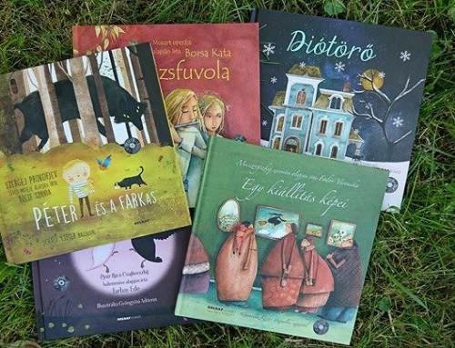 Mesék az operából –  Gyerekkönyv sorozat, nemcsak a kicsiknek