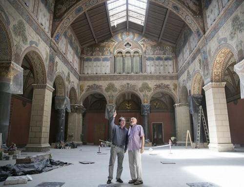 Hamarosan elkészül a Szépművészeti Múzeum Román Csarnoka, aminek talán Da Vinci-kódja is van (KÉPGALÉRIA)