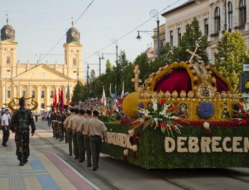 Augusztus 20. – Debreceni virágkarnevál