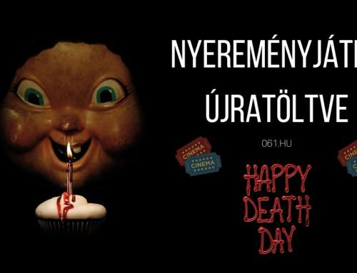 A haláloddal csak nyerhetsz, azaz nyerj két jegyet a Boldog halálnapot! című horrorfilmre!
