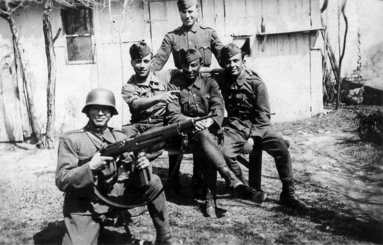 Az 1. magyar hadsereg katonái 1944 nyarán.